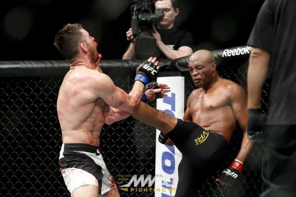 Anderson Silva vs Michael Bisping