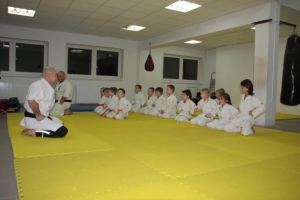 Egzaminy na pasy Furo Karate w VTP Gym w Andrespolu