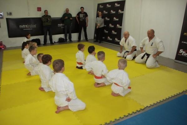 Egzaminy na pasy Furo Karate w VTP Gym w Andrespolu Kamil Bazelak Jan Schneider (2)