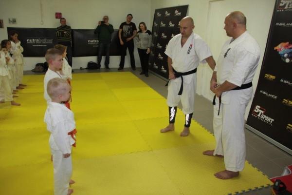 Egzaminy na pasy Furo Karate w VTP Gym w Andrespolu Kamil Bazelak Jan Schneider