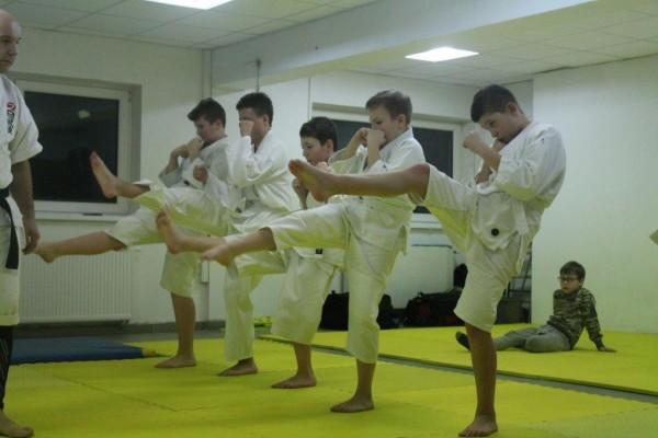 Egzaminy na pasy juiniorów do 16 lat Furo Karate w VTP Gym w Andrespolu (4)
