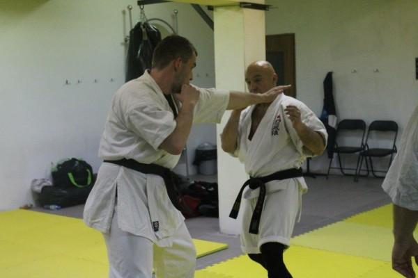 Seminarium Furo Karate w VTP Gym w Andrespolu