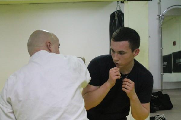Seminarium Furo Karate w VTP Gym w Andrespolu Bartłomiej Musiński