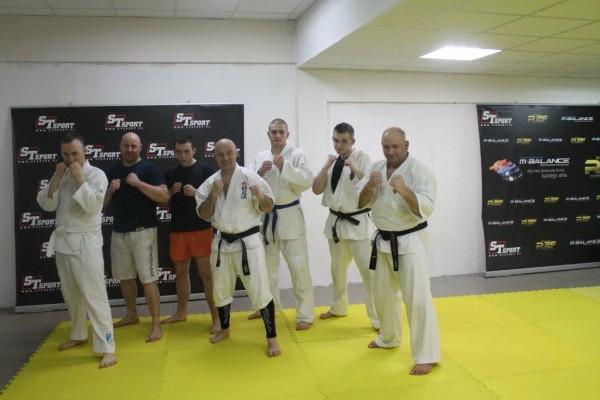 Seminarium Furo Karate w VTP Gym w Andrespolu Jan Schneider Kamil Bazelak (2)