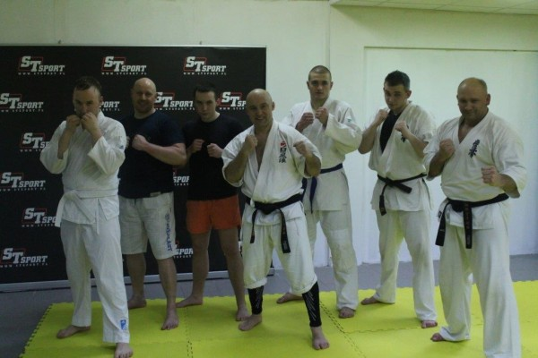 Seminarium Furo Karate w VTP Gym w Andrespolu Jan Schneider Kamil Bazelak (3)