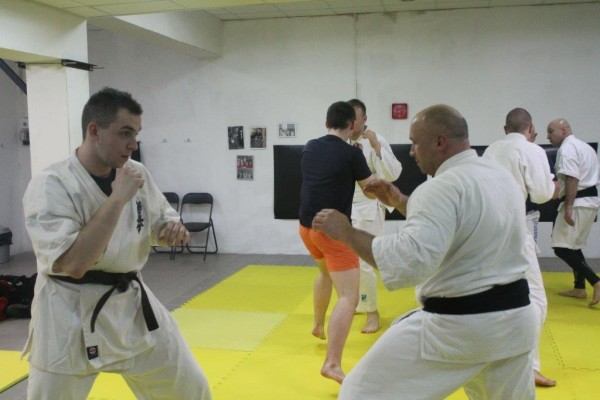 Seminarium Furo Karate w VTP Gym w Andrespolu Kamil Bazelak