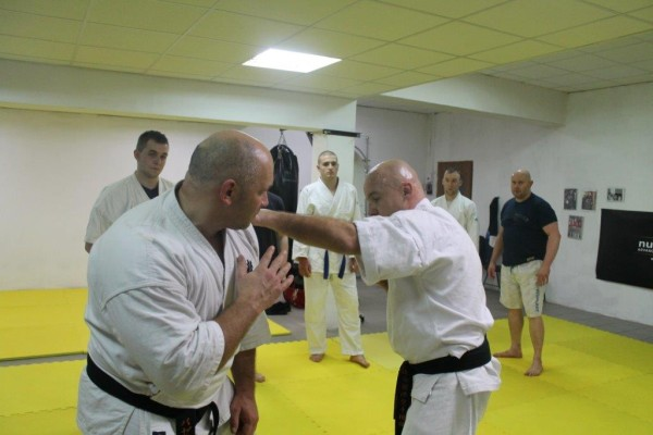Seminarium Furo Karate w VTP Gym w Andrespolu Kamil Bazelak Jan Schneider (2)