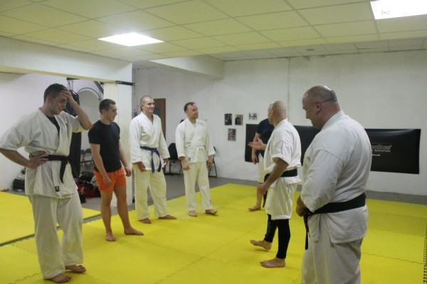 Seminarium Furo Karate w VTP Gym w Andrespolu Kamil Bazelak Jan Schneider (3)