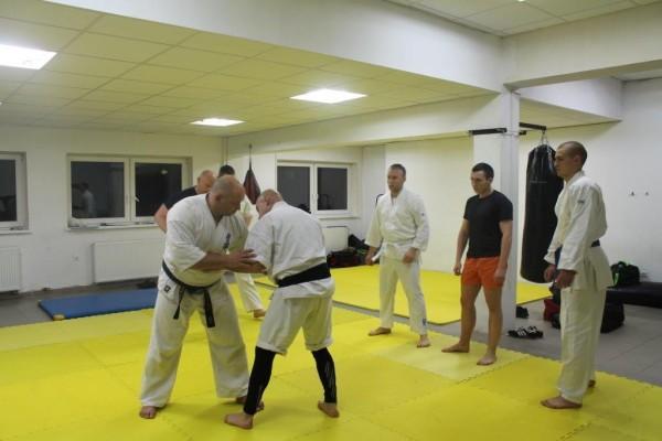 Seminarium Furo Karate w VTP Gym w Andrespolu Kamil Bazelak Jan Schneider