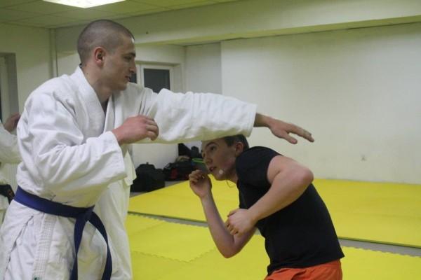 Seminarium Furo Karate w VTP Gym w Andrespolu Przemysław Lenartowicz