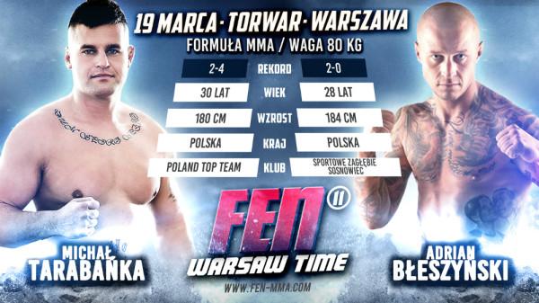 Tarabańka vs. Błeszyński na FEN 11