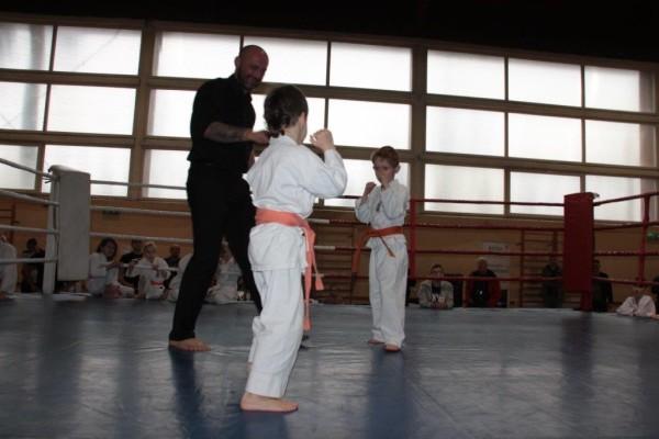 10.Puchar Polski Furo Karate 2016 Wiśniowa Góra Kajetan Bińczak vs Adam Kominiak