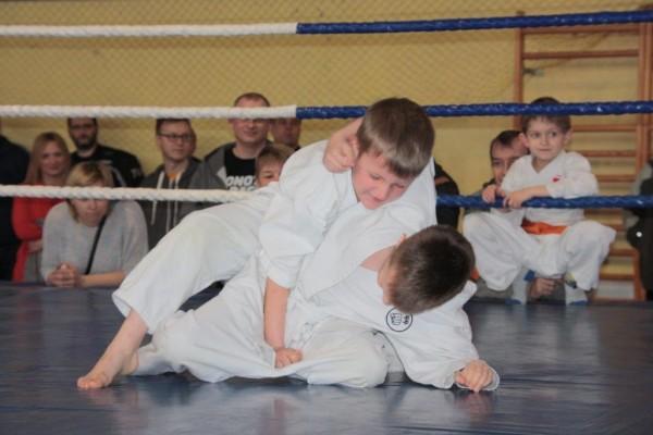 18.Puchar Polski Furo Karate 2016 Wiśniowa Góra Bartosz Chodak vs Oskar Nowakowski