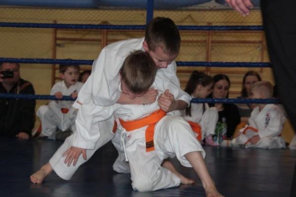 19.Puchar Polski Furo Karate 2016 Wiśniowa Góra Bartosz Chodak vs Oskar Nowakowski