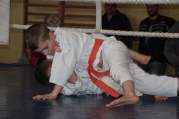 21.Puchar Polski Furo Karate 2016 Wiśniowa Góra Wiktor Klein vs Bartosz Chodak