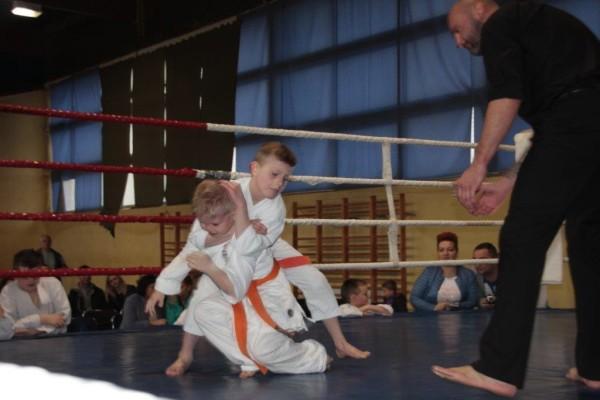 39. Puchar Polski Furo Karate 2016 Wiśniowa Góra Wiktor Klein vs Kewin Kurek