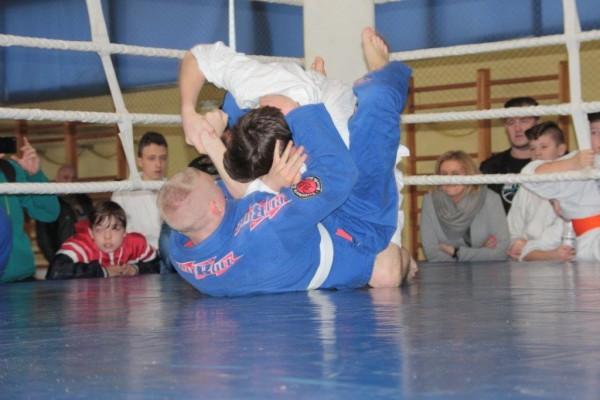 40.Puchar Polski Furo Karate 2016 Wiśniowa Góra Jakub Ślepko vs Arnold Jagiełło