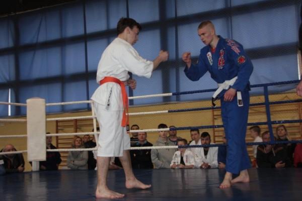 43.Puchar Polski Furo Karate 2016 Wiśniowa Góra Jakub Ślepko vs Arnold Jagiełło