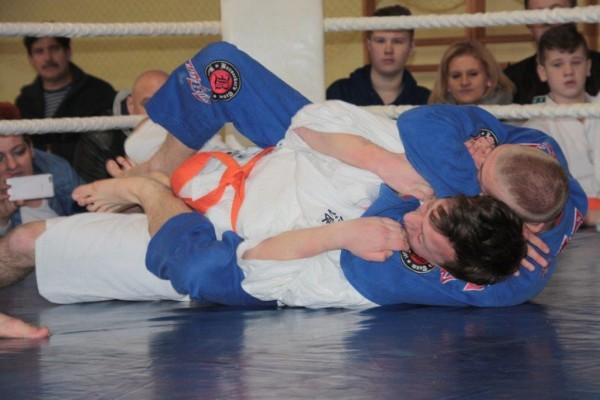 44.Puchar Polski Furo Karate 2016 Wiśniowa Góra Jakub Ślepko vs Arnold Jagiełło