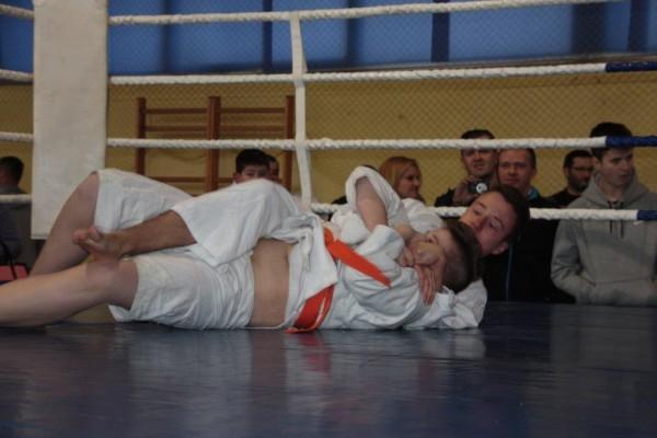 45. Puchar Polski Furo Karate 2016 Wiśniowa Góra Jakub Wołoszek vs Bartosz Turek