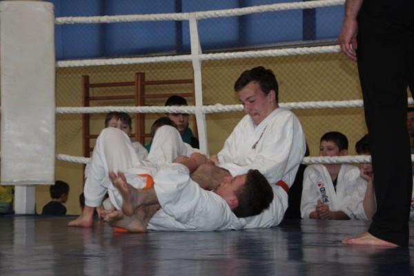 47.Puchar Polski Furo Karate 2016 Wiśniowa Góra Jakub Wołoszek vs Arnold Jagiełło