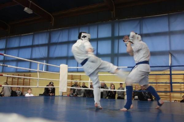 70.Puchar Polski Furo Karate 2016 Wiśniowa Góra Bartosz Musiński vs Christian Fritzsch