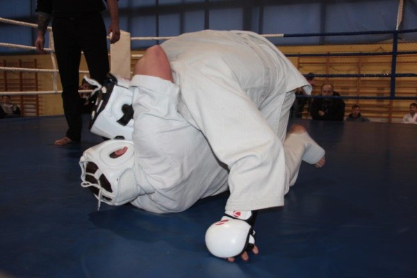 71.Puchar Polski Furo Karate 2016 Wiśniowa Góra Bartosz Musiński vs Christian Fritzsch