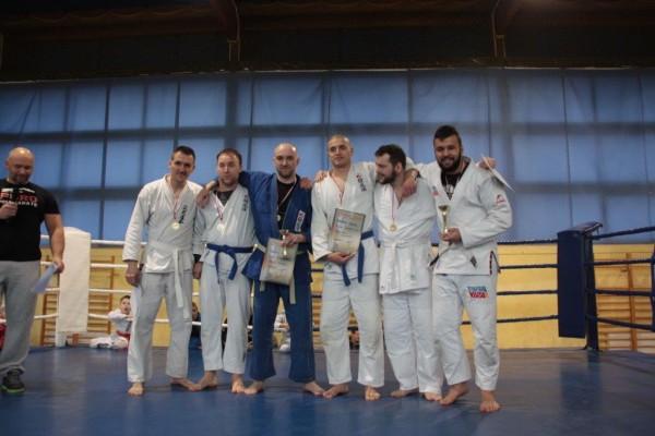 74. Puchar Polski Furo Karate 2016 Kamil Bazelak, Przemysław Lenartowicz, Przemysław Kubiak, Mateusz Olek, JakubKornacki, Krzysztof Kurek,Wojciech Marczak