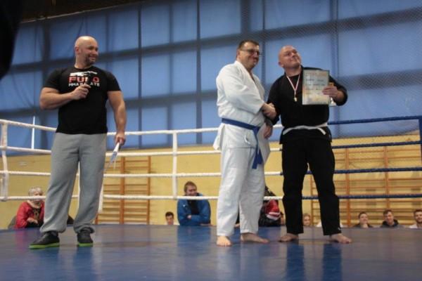 76. Puchar Polski Furo Karate 2016 Kamil Bazelak, Paweł Gładysz, Sławomir Kapłon