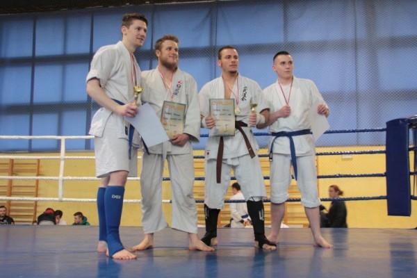 78. Puchar Polski Furo Karate 2016 Bartosz Musiński, Christian Fritzsch, Stavros Kirimalakis, Paweł Kiecana