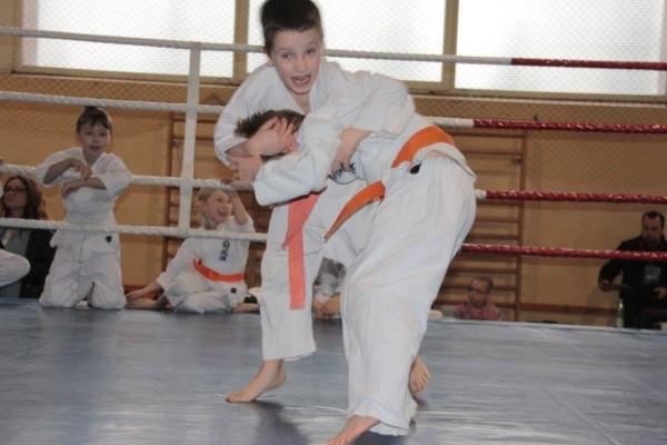 9.Puchar Polski Furo Karate 2016 Wiśniowa Góra Kajetan Bińczak vs Adam Kominiak