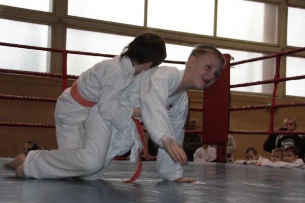 9.Puchar Polski Furo Karate 2016 Wiśniowa Góra Kajetan Bińczak vs Szymon Piera
