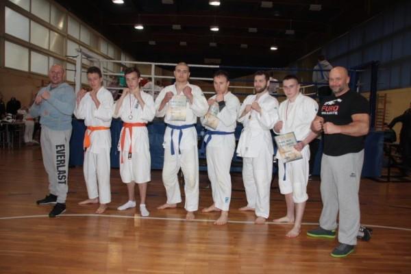 Puchar Polski Furo Karate 2016 Kamil Bazelak, Przemysław Lenartowicz, Przemysław Kubiak, Mateusz Olek, Arnold Jagiełło, Jakub Wołoszek