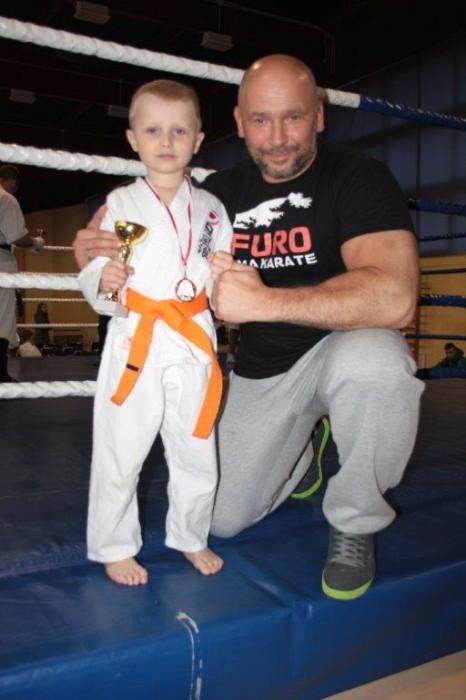 Puchar Polski Furo Karate 2016 Kamil Bazelak, i Jan Biały
