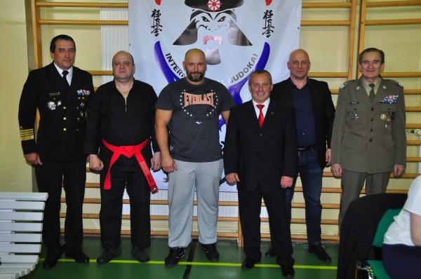 PP Kom. Orzech, Soke Puczyński, K. Bazelak, A. Więzowski, Sensei Reichel, Gen.J.Krugły