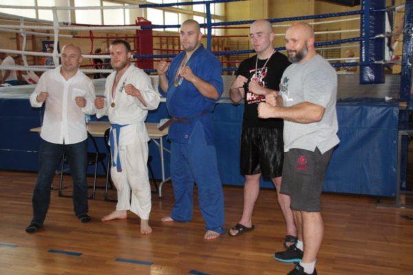 101 Grand Prix Furo Karate Radosław Kostrubiec, Kamil Bazelak, Jan Schneider, Paweł Kiecana, Tomasz Maształowicz