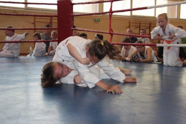 19 Grand Prix Furo Karate Zuzanna Bińczak Ewa Rzeźnik