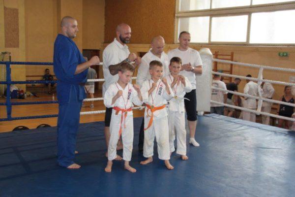 85 Grand Prix Furo Karate Radosław Kostrubiec, Robert Musierowicz, Jan Schneider, Adam Mieszkowski