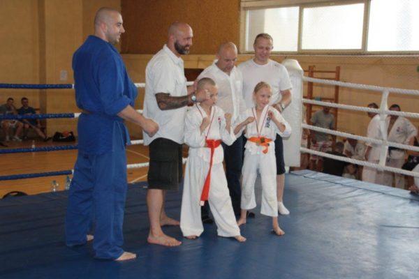 86 Grand Prix Furo Karate Radosław Kostrubiec, Robert Musierowicz, Jan Schneider, Adam Mieszkowski