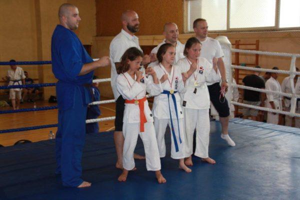 87 Grand Prix Furo Karate Radosław Kostrubiec, Robert Musierowicz, Jan Schneider, Adam Mieszkowski