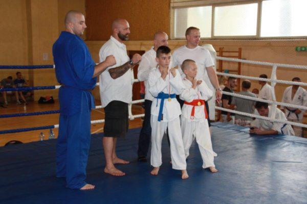 88 Grand Prix Furo Karate Radosław Kostrubiec, Robert Musierowicz, Jan Schneider, Adam Mieszkowski