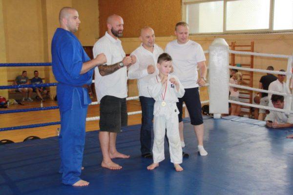 89 Grand Prix Furo Karate Radosław Kostrubiec, Robert Musierowicz, Jan Schneider, Adam Mieszkowski