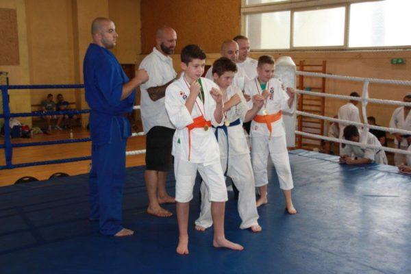 90 Grand Prix Furo Karate Radosław Kostrubiec, Robert Musierowicz, Jan Schneider, Adam Mieszkowski
