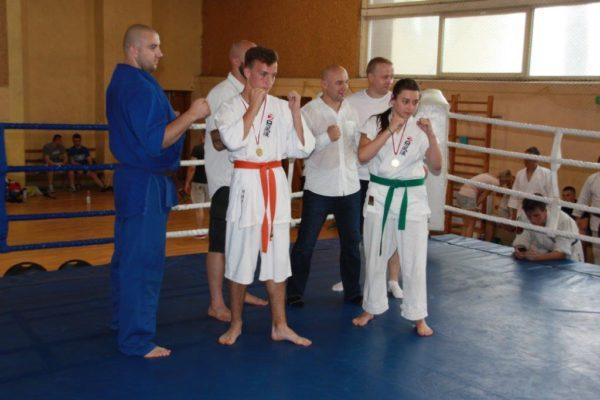 91 Grand Prix Furo Karate Radosław Kostrubiec, Robert Musierowicz, Jan Schneider, Adam Mieszkowski