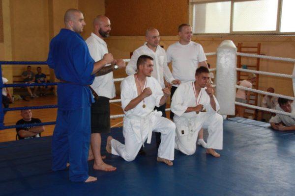 92 Grand Prix Furo Karate Radosław Kostrubiec, Robert Musierowicz, Jan Schneider, Adam Mieszkowski