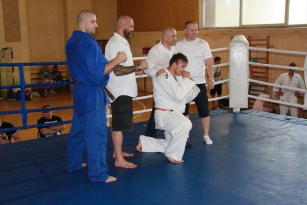 93 Grand Prix Furo Karate Radosław Kostrubiec, Robert Musierowicz, Jan Schneider, Adam Mieszkowski