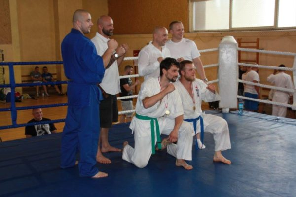 94 Grand Prix Furo Karate Radosław Kostrubiec, Robert Musierowicz, Jan Schneider, Adam Mieszkowski (2)