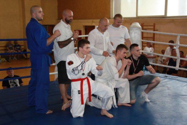 96 Grand Prix Furo Karate Radosław Kostrubiec, Robert Musierowicz, Jan Schneider, Adam Mieszkowski