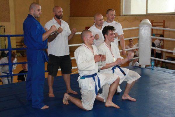 97 Grand Prix Furo Karate Radosław Kostrubiec, Robert Musierowicz, Jan Schneider, Adam Mieszkowski