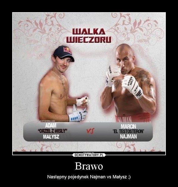 Marcin Najman vs Adam Małysz